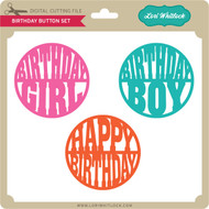 Birthday Button Set