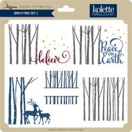 Birch Tree Set 2