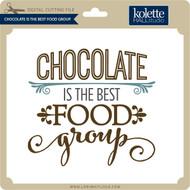 Chocolate Favorite Food Group
