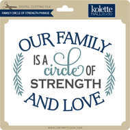 Family Circle of Strength Phrase