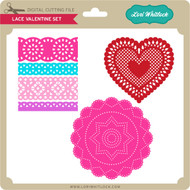 Lace Valentine Set