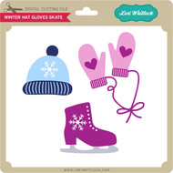 Winter Hat Gloves Skate