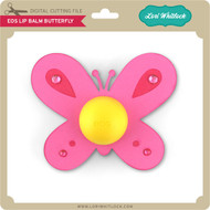 EOS Lip Balm Butterfly