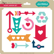 Heart Arrow Set