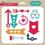 Heart Arrow Set