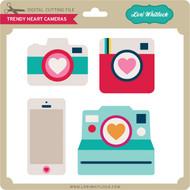 Trendy Heart Cameras