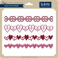 Doodle Heart Borders