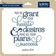 Psalms 20:4 Heart Desires