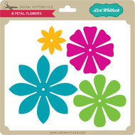 8 Petal Flowers