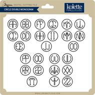 Circle Double Monogram