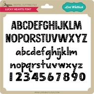 Lucky Hearts Font