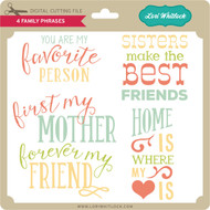 4 Family Phrases