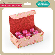 Easter Candy Egg Carton