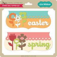 Spring Bag Topper Set
