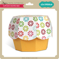 Cupcake Shaped Box