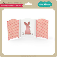 Tri-Fold Shadow Box Card Bunny