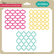 3 Quatrefoil Backgrounds
