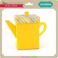 3D Tall Teapot
