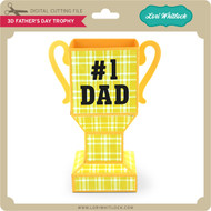 3D Father's Day Trophy