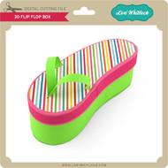 3D Flip Flop Box