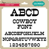 Cowboy Font