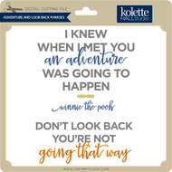 Adventure and Look Back Phrases