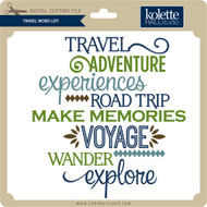 Travel Word List