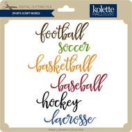 Sports Script Words
