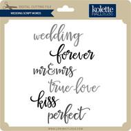Wedding Script Words