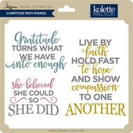 3 Gratitude Faith Phrases