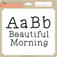 Beautiful Morning Font