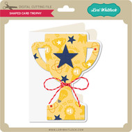 Shaped Card Trophy