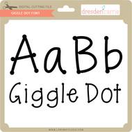 Giggle Dot Font