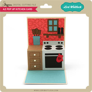 A2 Pop Up Kitchen Card