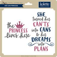She Can Princess