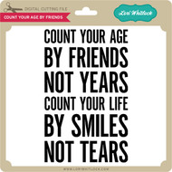 Count Your Age By Friends