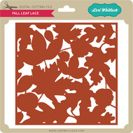 Fall Leaf Background Lace