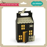Haunted House Gable Box