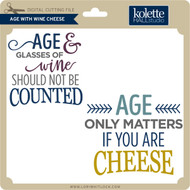 Age With Wine Cheese