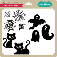 Cats Ghosts Webs