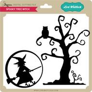 Spooky Tree Witch
