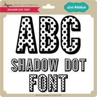 Shadow Dot Font