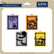 Halloween Tags Set 2