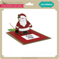 Slider Window Card Santa