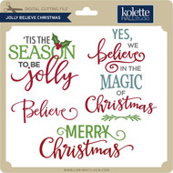 Jolly Believe Christmas
