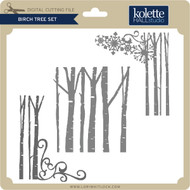 Birch Tree Set 3