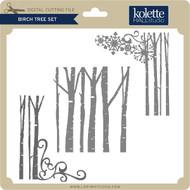 Birch Tree Set 3