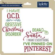 I Have OCD on Pinterest