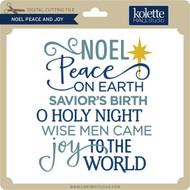 Noel Peace and Joy