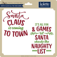 Santa Claus All Fun and Games